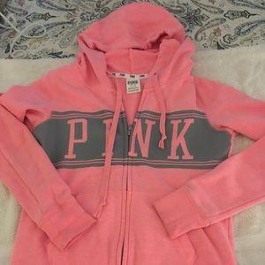 Pink sweatshirt/ hoodie